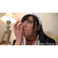(動画)デブぽちゃ顔カワイイ ありす① 鼻糞!くしゃみ!オナラ!編