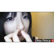 (動画)前田陽菜の匂いと臭い ② 美女の鼻クソほじり編