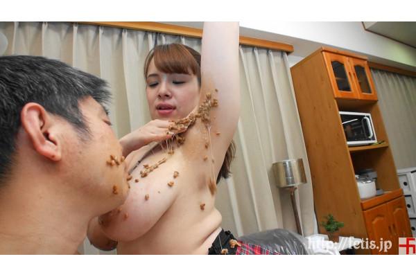 (動画)犬嗅ぎ乳娘2 納豆臭い巨乳編④ 納豆プレイ編