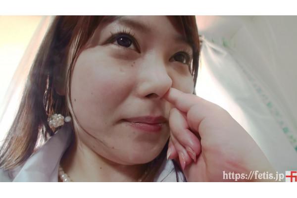 new!(動画)巨乳ゆいの鼻ほじり編